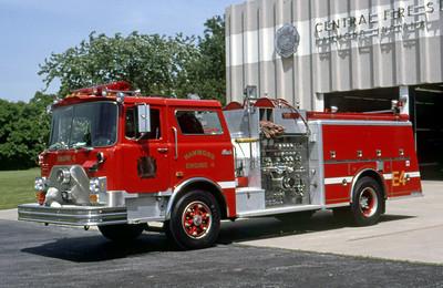 HAMMOND FD IN  ENGINE 4  1988  MACK CF - KME   1250-750   DON FEIPEL PHOTO
