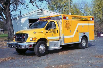 AINSWORTH  RESCUE 3  FORD F - AMERICAN FIRE RESCUE