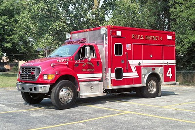 ROSS TOWNSHIP FD  RESCUE 4
