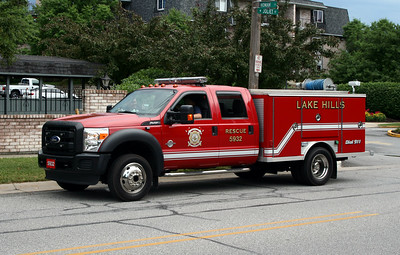 LAKE HILLS RESCUE 5932   FORD F-450 -