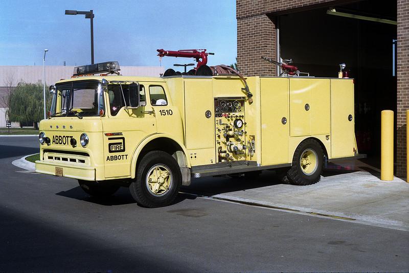 ABBOTT 1510  1978 FORD C-8000 - DARLEY  750-500-20F
