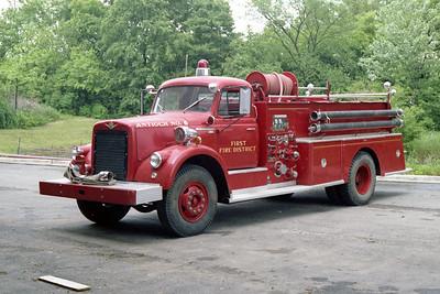 ANTIOCH FIRE DISTRICT  ENGINE 6  IHC V190 - PIRSCH   1000-500