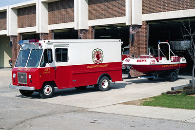 ANTIOCH FIRE DISTRICT  SQUAD 2157 AND FIRE BOAT 2150