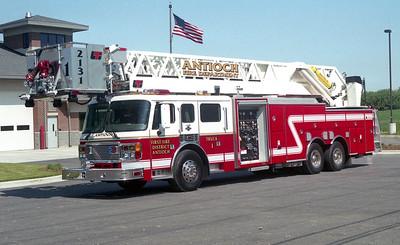 ANTIOCH FIRE DISTRICT  TOWER 2131  2000  ALFCO EAGLE - ALEXIS - LTI   1500-200-100' TL