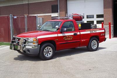 ANTIOCH FIRE DISTRICT  BRUSH 2173  2006 GMC SIERRA 4X4 - ALEXIS   200-200   SK-703