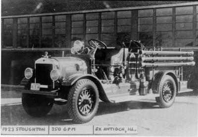 ANTIOCH FIRE DISTRICT  HISTORICAL PHOTO 5   DAN MARTIN PHOTO