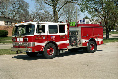 BEACH PARK ENGINE 1222  PIERCE ARROW