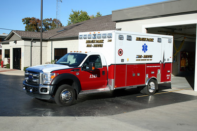 BEACH PARK AMBULANCE 1243