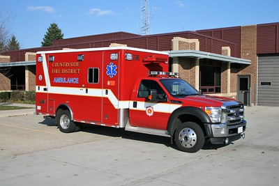 COUNTRYSIDE FPD  AMBULANCE  4112  2012 FORD F450 - HORTON