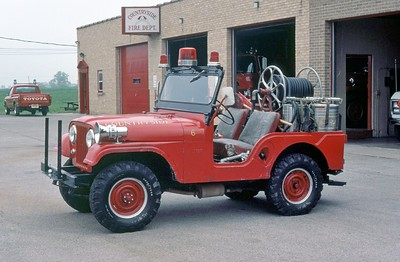 COUNTRYSIDE FPD  BRUSH  4176  1962  JEEP 4X4 -FD BUILT   100-100