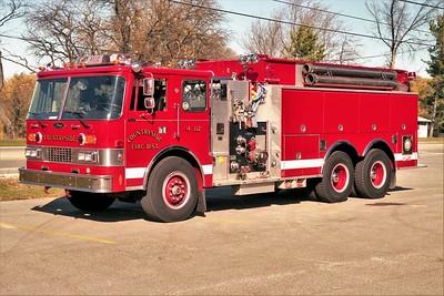 COUNTRYSIDE FPD  ENGINE 4112  1998  PIERCE DASH   1250-2500   E-4048  WHITE STRIPE