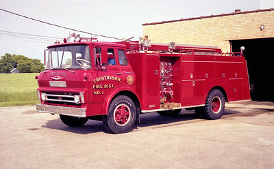 COUNTRYSIDE FPD ENGINE 4111  1966  CHEVY - DARLEY   750-750