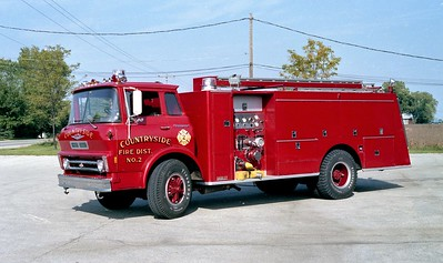 COUNTRYSIDE FPD  ENGINE 4112  1968  CHEVY - DARLEY   1000-1000