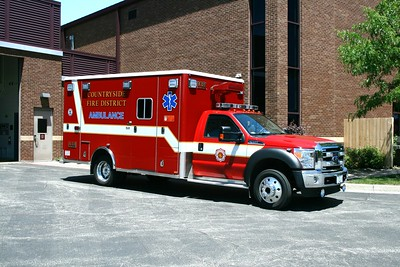 COUNTRYSIDE FPD  AMBULANCE 4111  FORD F-450 - MEDTEC