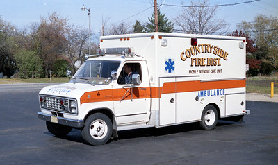 COUNTRYSIDE FPD  AMBULANCE 4144  1980  FORD E350 - EVF  2