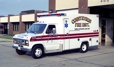 COUNTRYSIDE FPD  AMBULANCE 4144  1990  FORD - EXCELLANCE