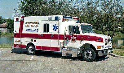 COUNTRYSIDE FPD  AMBULANCE 4149  1 1998  IHC 4700 - EXCELLANCE