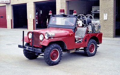 COUNTRYSIDE FPD  BRUSH  4176  1962  JEEP - FD BUILT   100-100