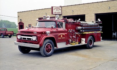COUNTRYSIDE FPD  ENGINE  4115  1962  CHEVY 65 - BOYER   750-750