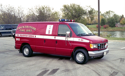 COUNTRYSIDE FPD  CAR 4195    1993FORD ECONLINE VAN