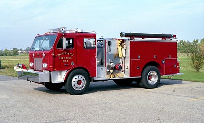 COUNTRYSIDE FPD  ENGINE 4118  1976 PETERBILT - PIERCE   1250-750   #8914-C    OUT BACK