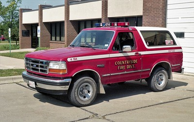 COUNTRYSIDE FPD  CAR 4194  1992  FORD BRONCO