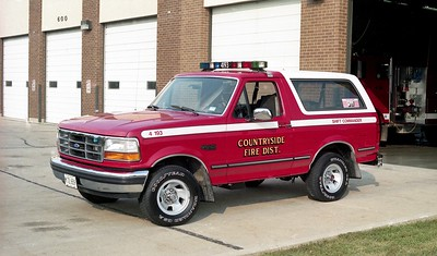 COUNTRYSIDE FPD  CAR 4193  1992  FORD BRONCO 4X4