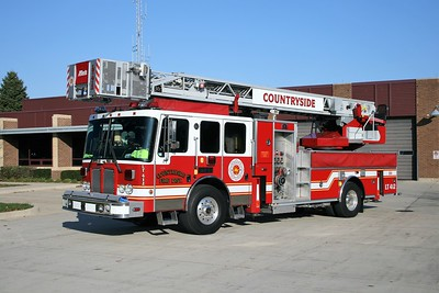 COUNTRYSIDE FPD  TRUCK 412  2004 HME 1871 - GENERAL SAFETY - METZ   1500-200-15A-15B-105'