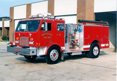 COUNTRYSIDE FPD  ENGINE 4118  1976 PETERBILT - PIERCE   1250-750   #8914-C   ON THE RAMP  2