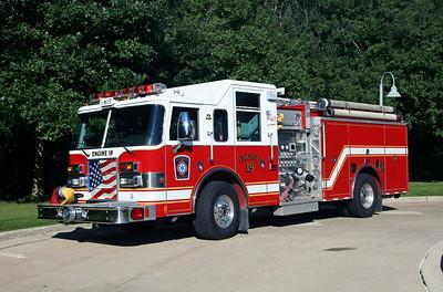 DEERFIELD  ENGINE 19 2002 PIERCE DASH  1250-750  #13665-02