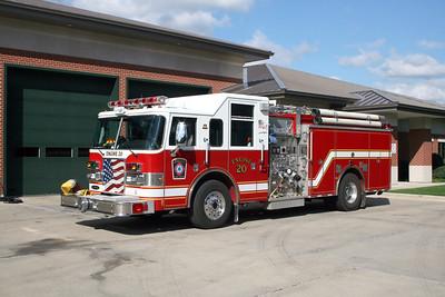 DEERFIELD  ENGINE 20R  2002 PIERCE DASH   1250-750   #13665-01