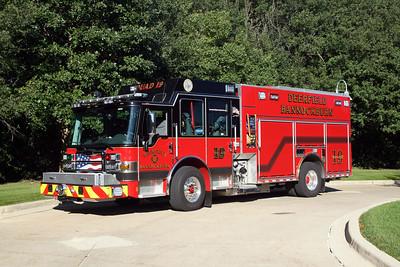 DEERFIELD  SQUAD 19  2015 PIERCE DASH CF PUC   1250-750-40  #28838