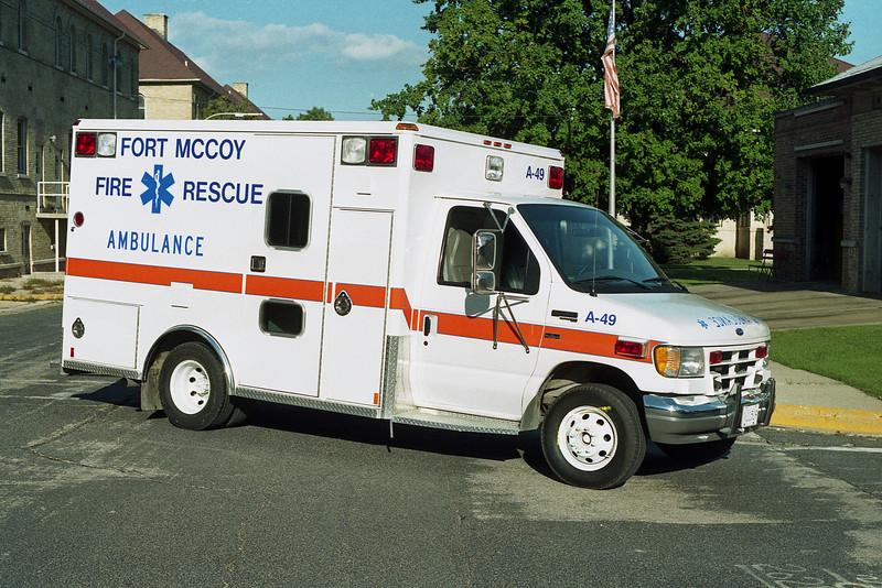 FORT McCOY   AMB 49