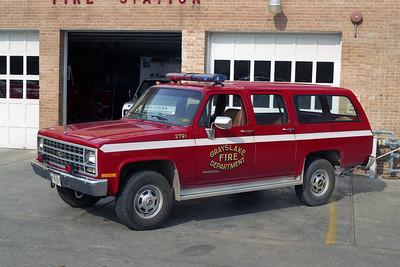 GRAYSLAKE CAR 2791 1990 CHEVY SUBURBAN
