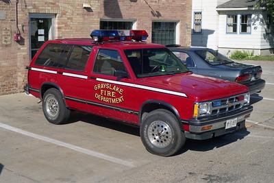 GRAYSLAKE CAR 2700  1993 CHEVY BLAZER