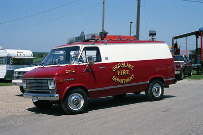 GRAYSLAKE RES 2752  1971 CHEVY  WATER RESCUE