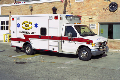 GRAYSLAKE AMB 2743  1997 FORD - ROAD RESCUE