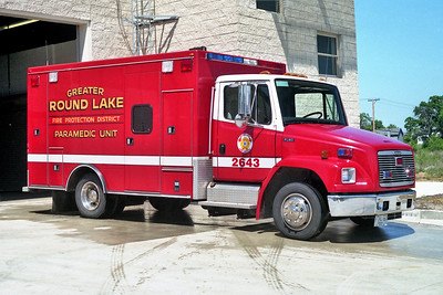 ROUND LAKE  AMBULANCE 2643 1995 FREIGHTLINER  FL60 - MARQUE