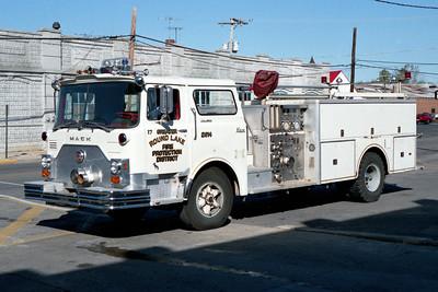 ROUND LAKE  ENGINE 2614  MACK CF WHITE