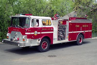 ROUND LAKE  ENGINE 2651  MACK CF