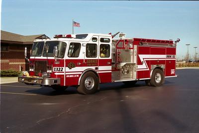 GURNEE ENGINE 1322   E-ONE