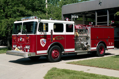 HIGHLAND PARK FD  ENGINE 31  1989 SEAGRAVE  1500-750  X-79939  BF