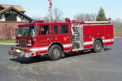LAKE ZURICH ENG 3211  1997 PIERCE SABER 1500-1000-30