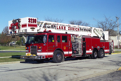 LAKE ZURICH T 3230   2000 PIERCE DASH  2000-400-100' PAP
