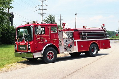 LAKE ZURICH ENGINE 212  1983 MACK MC  1250-1000