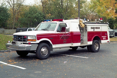 LIBERTYVILLE FD  ENGINE 4612  1993  FORD F250 4X4 - 1977  HAMMERLY   400-200   RECHASSIS