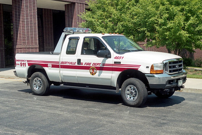 LIBERTYVILLE FD  UTILITY 4651  2013  FORD F350 4X4