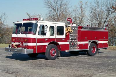 LIBERTYVILLE FD  ENGINE 4610  1989  E-ONE HUSH   1500-500    #6246