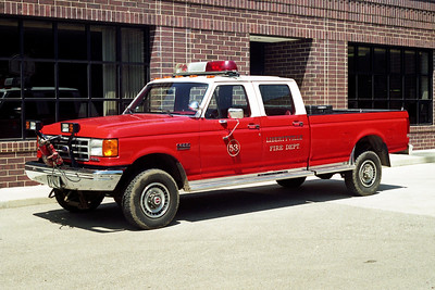 LIBERTYVILLE FD  UTILITY 4653  1989  FORD F350 4X4