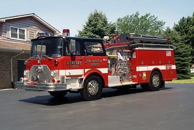 NEWPORT FPD ENG 1413  1977 MACK CF  2000-500